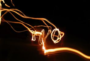 Fire Poi Flame Trails by RadillacVIII