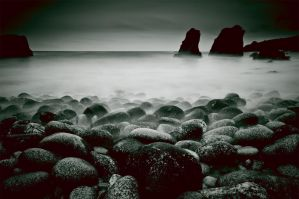 Sea Stacks II Big Sur CA by gursesl