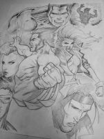 xmen group shot by Sajad126