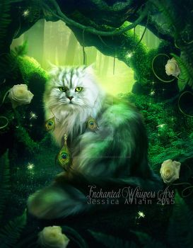 Emerald-Forest by EnchantedWhispersArt