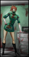 cannibal nurse by FASSLAYER