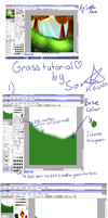 grass tutorial sai by Soranova