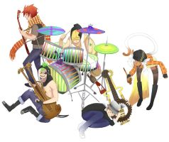 Five Pack Sour - Band Practice by e-hima
