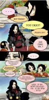 Interactions- Asami V. Airbender Kids by suiseiusagi