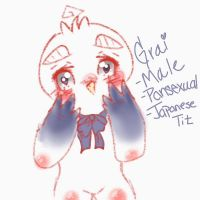 FNAF OC| Grai the Japanese Tit by the-uke-prince