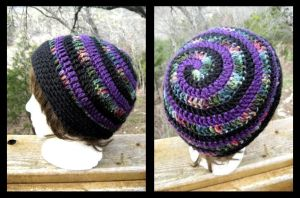 Jewel Tones Beanie by dragonrhyme
