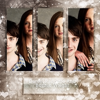 Photopacks Daniel Radcliffe And Bonnie Wright by AngelSerenity12