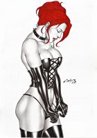 BLACK QUEEN, ON E-BAY AUCTION NOW !!! by carlosbragaART80