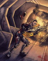 Mass Effect by Vogelspinne