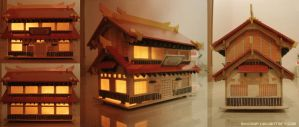 Japanese Traditional House by shicmap