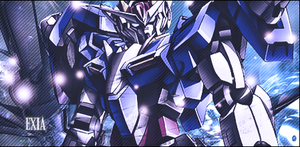 Gundam Exia by MrLogic