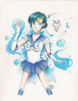 Commission- Sailor Mercury (Edit) by Ronaka-san