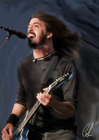 Dave Grohl by camillalangvik