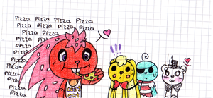pizza! :'D - five night at flippy's by Lou-pandita