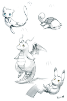 more pokedoodles by kori7hatsumine