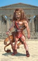 Mighty Heracles, Son of Zeus by RubusTheBarbarian