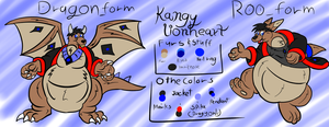 Kangy lionheart Reference sheet 2015 by Kangythekangaroo