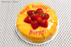 Mango cake by patchow
