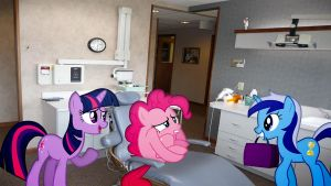 Pinkies Dentist Appointment by Macgrubor