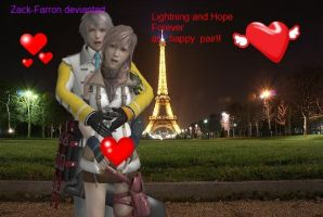 Hope And  Lightning IN PARIS by Zack-Farron
