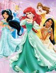 Disney Princesses - Sparkling Dreams by SilentMermaid21