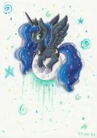 Princess Luna by PumpkinKikile