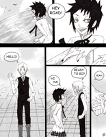 AllenxRoad COMIC by fliff