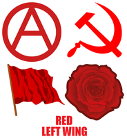 Red Left Wing by FinnishEcoSocialist