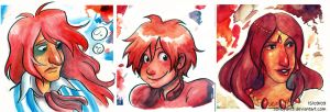 Ponyo Portraits by sonopants
