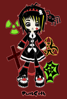 Kawaii Clothing - Punk Gothic by LolitaTequila