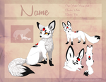 New OC! ref sheet NAMING CONTEST by Taravia