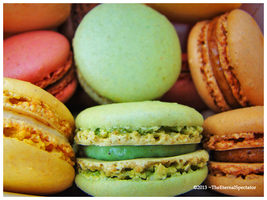 Macarons by TheEternalSpectator
