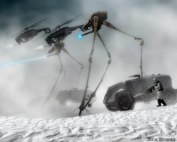 Combine snow assault by SgtDoom