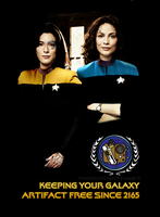 Star Trek Bering and Wells by twisted-illusion-666