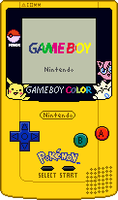 Game Boy Color [Pokemon 2] by BLUEamnesiac