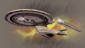 Enterprise Series - NCC-1701-B by thomasthecat