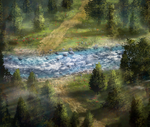 Mountain river by DamianKrzywonos