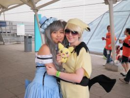 Ciel and Pichu:. LondonMCMExpo by rocksanie