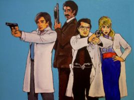 Garth Marenghi's Darkplace by asamamoru