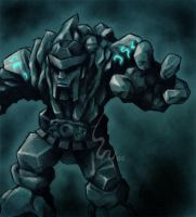 Golem by Ribera