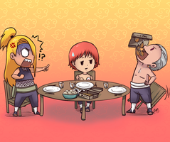 Lunch Time by JayEyBee