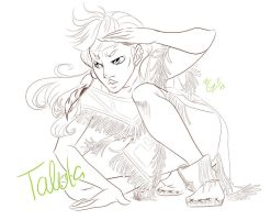 Talula In Action! OLs by Honeyeater