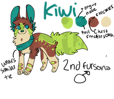 kiwi ref by kittenslobber