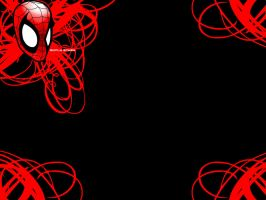 Simply Spidey_BLACK by The1Blur