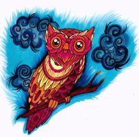 Owl Color by Pick-Your-Poison
