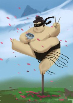 Sumo ninja by DefiledVisions