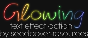 Glowing Text Effect by secdoover-resources