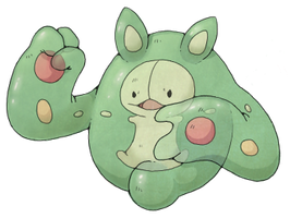 reuniclus color by nastyjungle