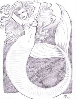 Mermaid by MichaelPowellArt