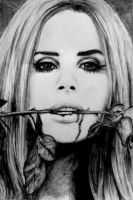 Lana Del Rey drawing by joksie